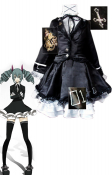 Premium Vocaloid Miku Secret Police Cosplay Costume