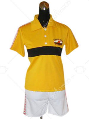 Prince Of Tennis Rikkai Junior High School Summer Uniform Cospla