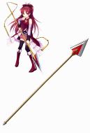 Puella Magi Madoka Magica Kyoko Sakura Cosplay Spear