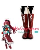 Puella Magi Madoka Magica Kyoko Sakura Cosplay Boots
