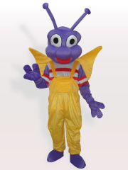 Purple Bo Dudu Adult Mascot Costume