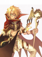 Ragnarok Online High Wizard Man Cosplay Costume