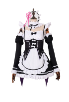 Re:Zero Starting Life in Another World Ram Cosplay Costume