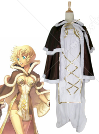Ragnarok Online High Wizard Woman Cosplay Costume