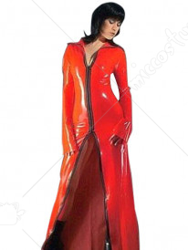 Red PVC Catsuit