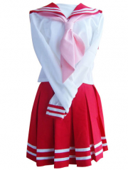 Red School Uniform