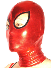 Red Shiny Metallic Hood