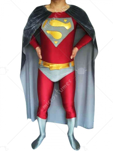Red Spandex Super Hero Costume