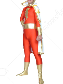 Red The Flash Classic Lycra Spandex Super Hero Costume