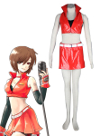 Red Vocaloid Meiko Cosplay Costume