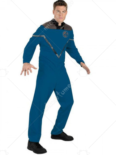 Reed Richards Mr. Fantastic Lycra Super Hero Costume