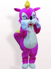 Rose Squirrel Plush Adult Mascot Costume
