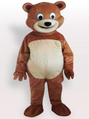 Round Mouth Adult Mascot Costume