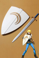 RWBY Jaune Arc Sword and Shield Crocea Mors