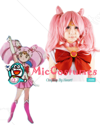 Sailor Moon Chibi Usa Small Lady Cosplay Wig
