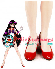 Sailor Moon Hino Rei Sailor Mars Cosplay Shoes
