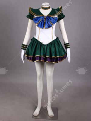 Sailor Moon Neptune Kaiou Michiru Cosplay Costume Stage MusicalVersion