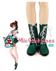 Sailor Moon Sailor Jupiter Cosplay Shoes Boots