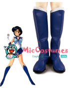 Sailor Moon Mercury Ami Mizuno Cosplay Shoes