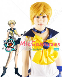 Sailor Moon Tenoh Haruka Sailor Uranus Cosplay Wig