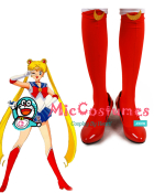 Sailor Moon Tsukino Usagi Cosplay Shoes
