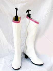Sailor Moon Tsukino Usagi White Cosplay Shoes Boots