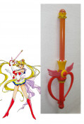 Sailor Moon Usagi Tsukino Cosplay Small Wand with Wings