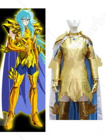 Saint Seiya Pisces Aphrodite Gold Cloths Cosplay Costume