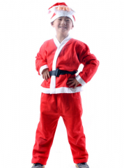 Santa Suit Costume For Boy