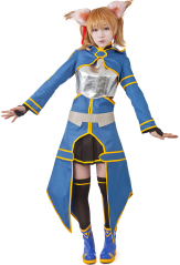 Sword Art Online 2 ALO Silica Cosplay Costume