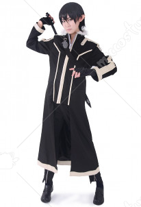 Sword Art Online 2 ALO Kirito Cosplay Costume