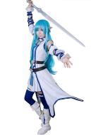 Sword Art Online 2 ALO Asuna Cosplay Costume
