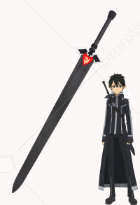 Sword Art Online 2 ALO Kirito Cosplay Sword