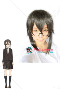 Sword Art Online 2 Phantom Bullet Gun Gale Online Shino Asada Cosplay Wig