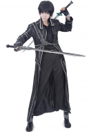 Premium Sword Art Online Kirito Cosplay Leather Costume