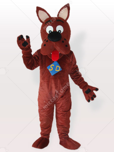 Scooby dog Adult Mascot Costume