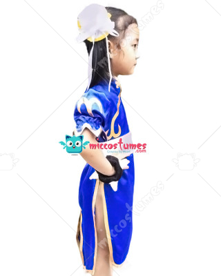 Street Fighter Chun Li Kids Cosplay Costume  sc 1 st  Miccostumes.com & Street Fighter Chun Li Kids Cosplay Costume For Sale