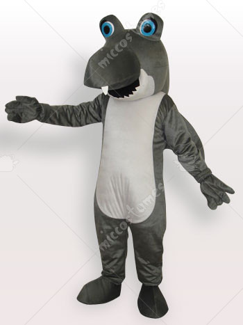Shark Short Plush Adult Mascot Costume