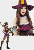 League of Legends Sheriff of Piltover Caitlyn Cosplay Perruque