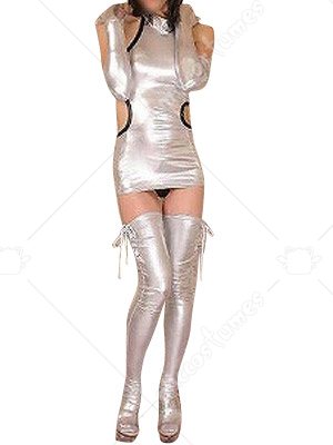 Shiny Metallic Sexy Dress