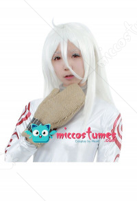 Deadman Wonderland Shiro Cosplay Wig