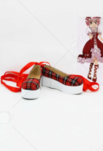 Shugo Chara Amu Hinamori Cosplay Shoes