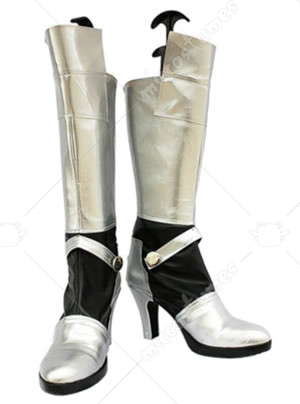 Silver Fate Stay Night Saber Cosplay Boots