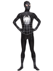 Spiderman Superhero Shiny Metallic Zentai Costume