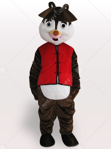 Squirrel Adult Mascot Costume