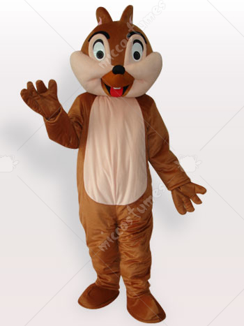 Squirrel Boy Short Plush Adult Mascot Costume