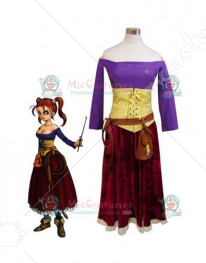 Dragon Quest VIII Jessica Albert Cosplay Costume