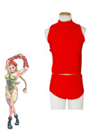 Street Fighter Cammy Red Cosplay Costume