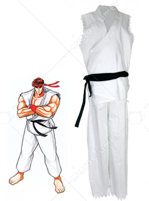Street Fighter Ryu Adult Cosplay Costume