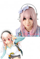 Super Sonico Cosplay Headphone